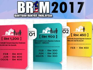 Rayuan BRIM 2017 Borang Dan Tarikh Penting