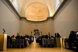 Wedding in Rodin Gallery