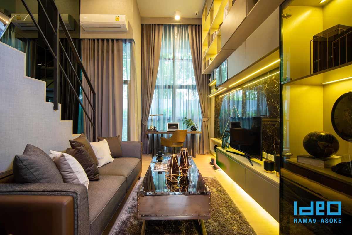 Ideo Rama 9 -Asoke Hybrid Studio Mocked up
