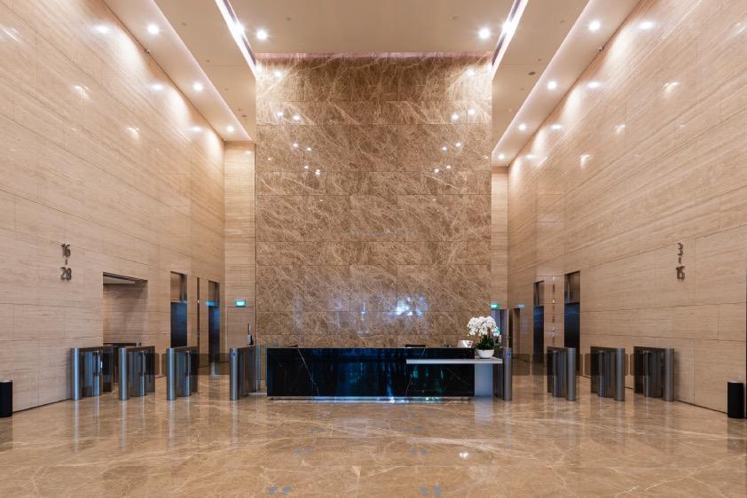 20 Cecil Street Lobby