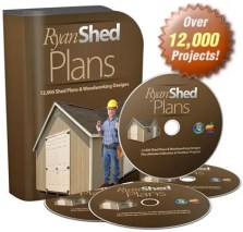Ryan Shed Plans Coupon