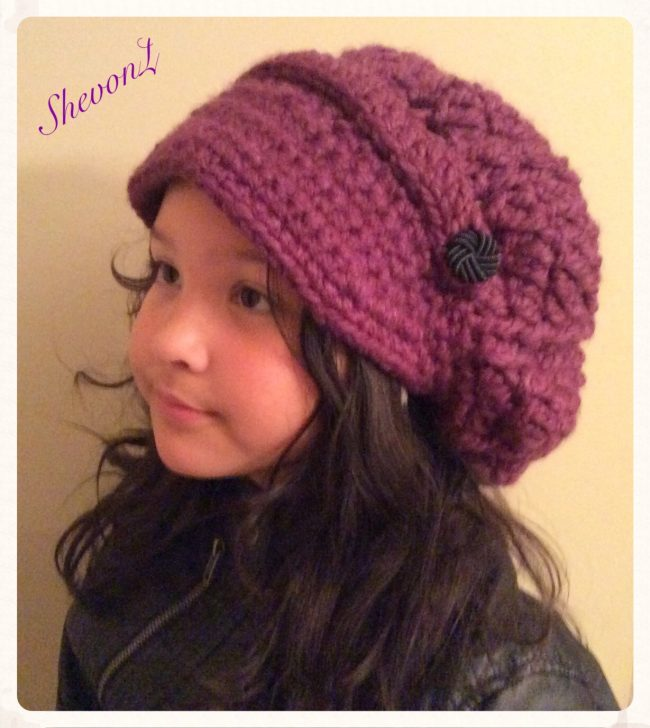The Very Popular Slouchy Newboy Hat
