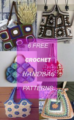 crochet bandbags