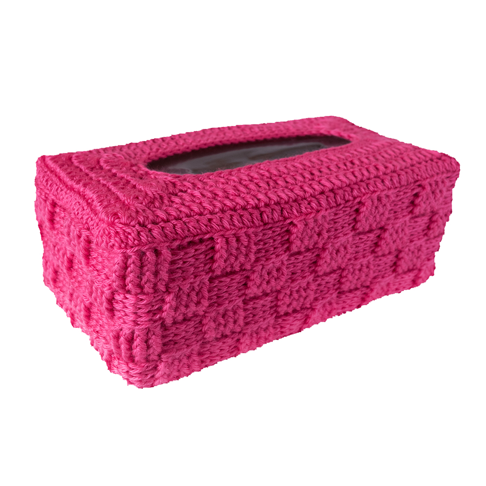 Rectangular Tissue Box Cover In Two sizes - Crochet Pattern