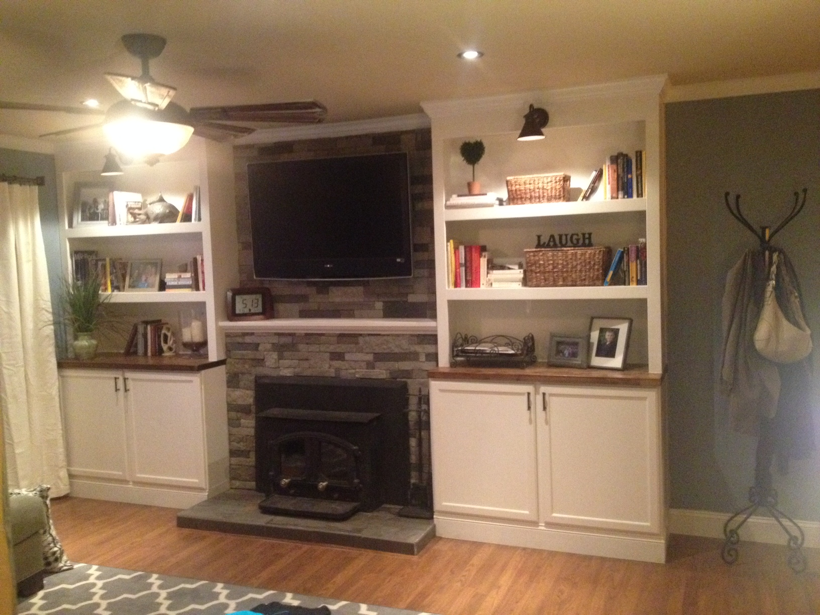 diy project fireplace makeover