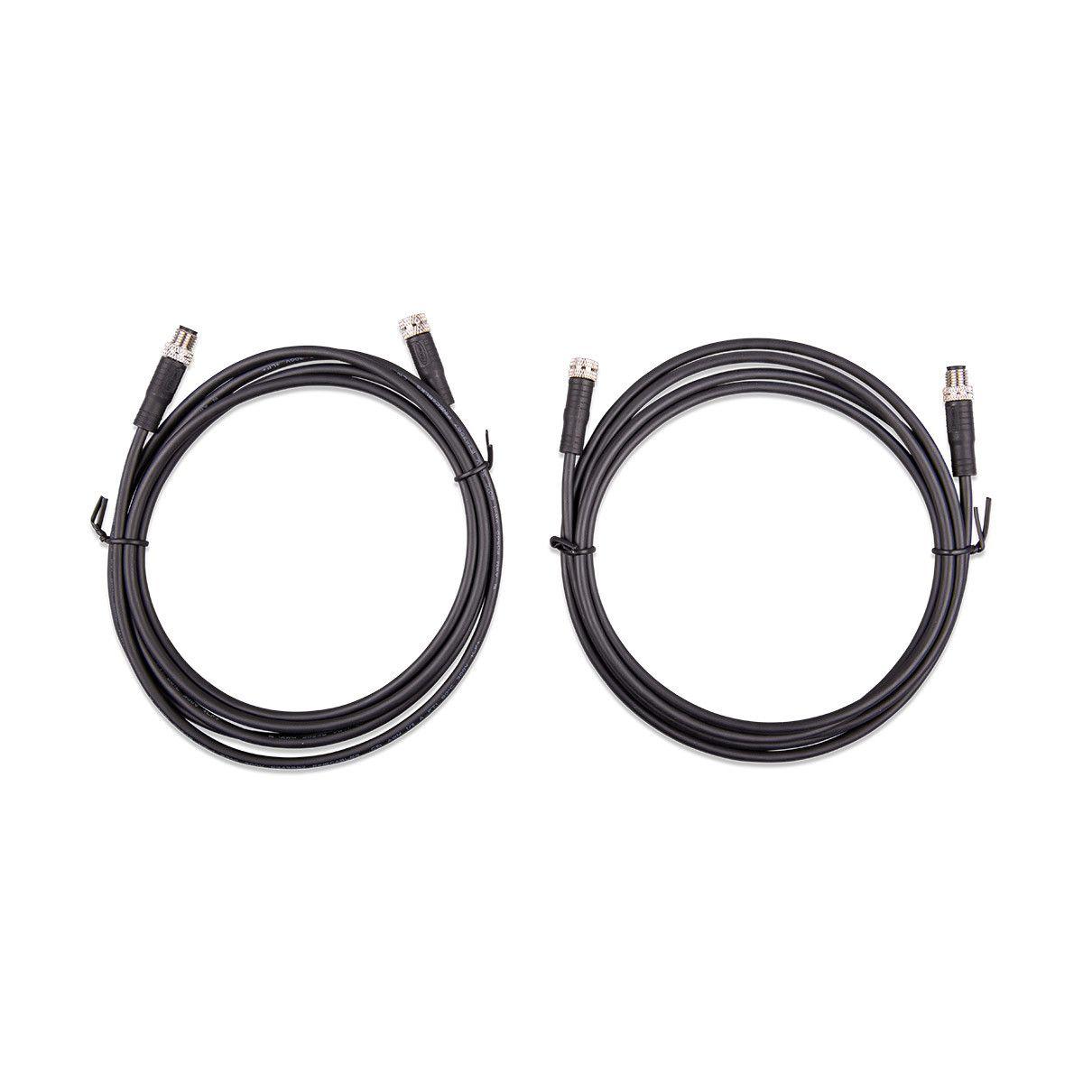 Cable 2m Avec M8 Circular Connector Male Female 3 Pole