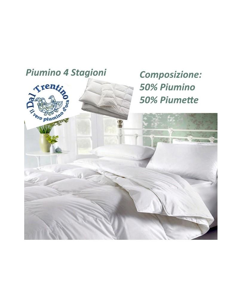 Piumino matrimoniale gabel 4 stagioni vera piuma. Piumini Del Trentino