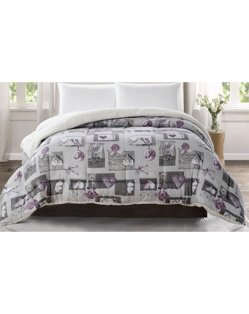Visualizza altre idee su camera da letto, camera shabby chic, camera da letto elegante. Trapunta Invernale Imbottita Matrimoniale Effetto Lana Merinos