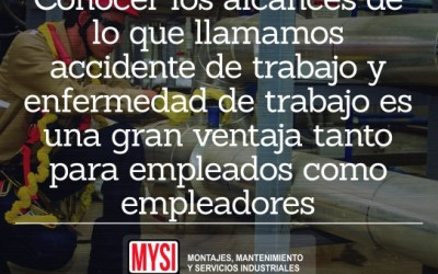 ¿Accidente o enfermedad laboral?