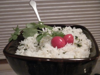 citrus cilantro rice