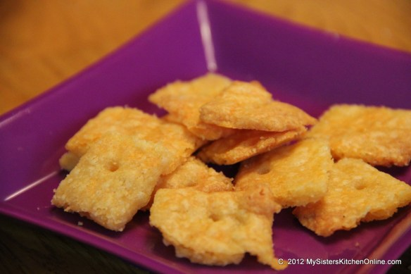 Gluten-free cheese crackers for when you're craving Cheez-Its