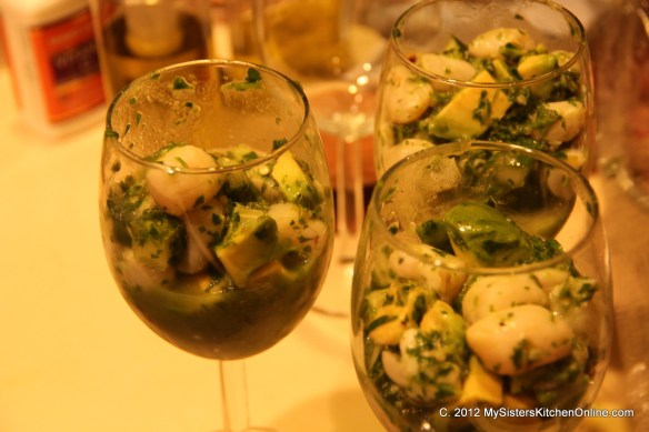 Herb Green Ceviche