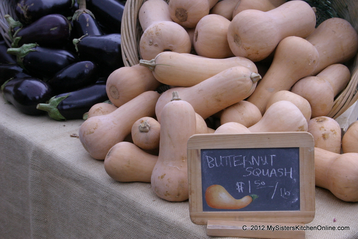 Butternut squash at the Boone Farmer's Market