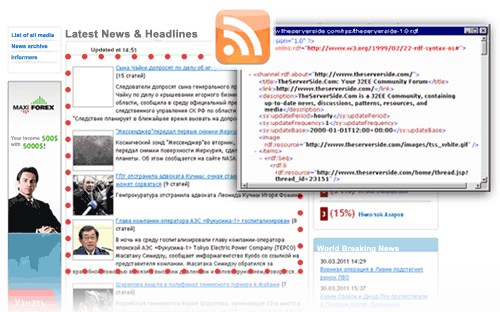 RSS generator
