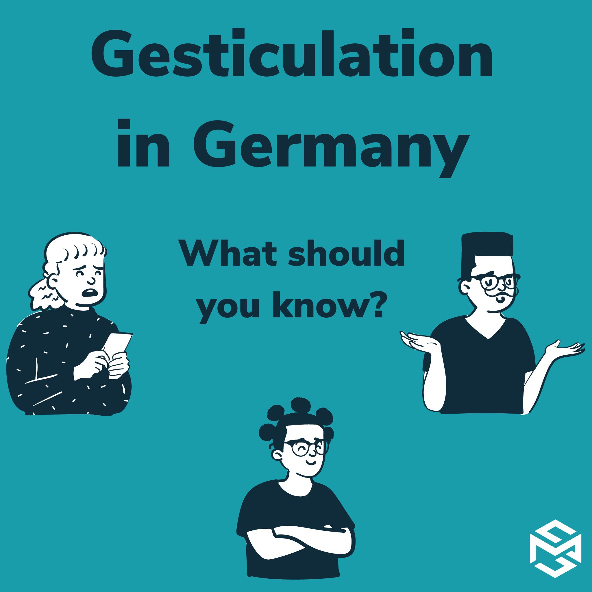 Gestures in Germany
