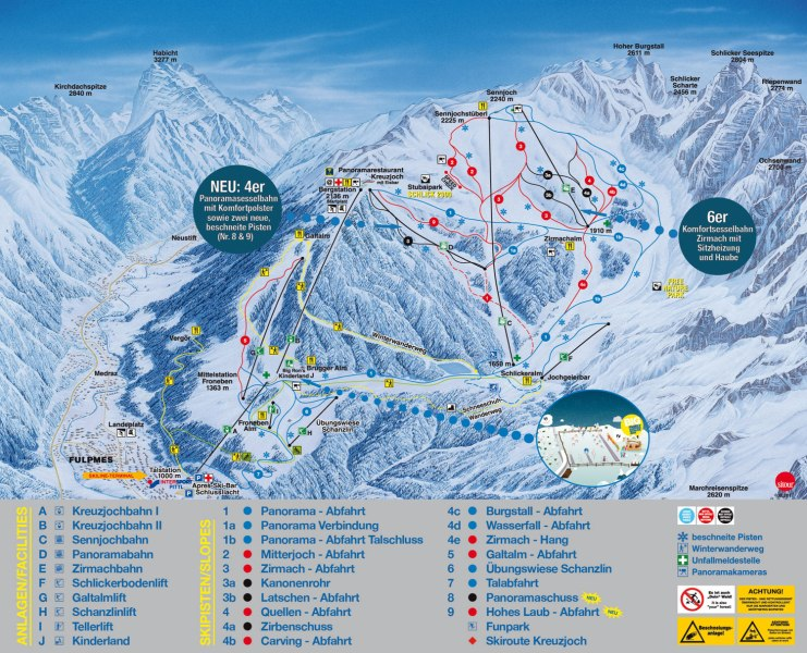Map of austria ski resorts online interactive map wallpapers schlick 2000 ski trail map free download schlick 2000 ski trail map publicscrutiny Gallery