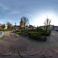 Jesienna panorama miasta