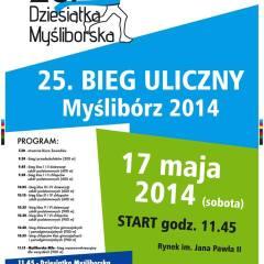 """XXV Edycja Biegów Myśliborska Mila  i """"10-tka"""""""