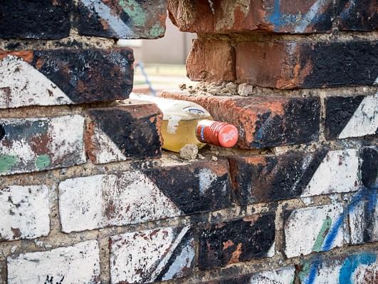 nowa funkcja średniowiecznych murów obronnych - chłodzenie nalewki