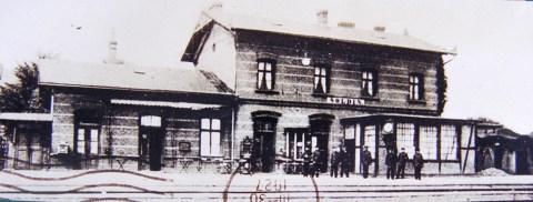 Soldin - pierwsza stacja kolejowa