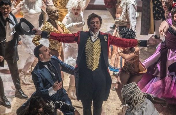 """Hugh Jackman w scenie z filmu """"Król rozrywki"""""""