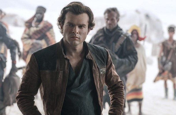 "Kadr z filmu ""Han Solo"""