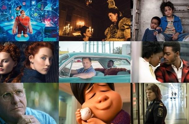 Filmy nominowane do Oscara w 2019 roku
