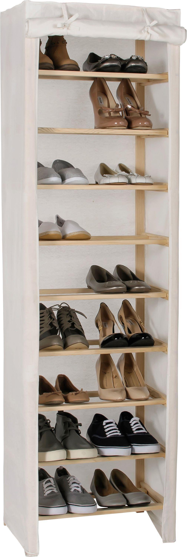Cream Shoe Rack