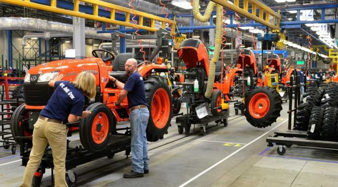 Kubota aims to become an all-round agricultural machine manufacturer
