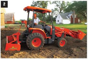 The new L45 TLB is ideal for contractors, landscapers and rental companies.