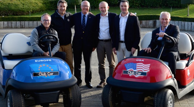 Ryder Cup Europe extends agreement with Club Car to 2018