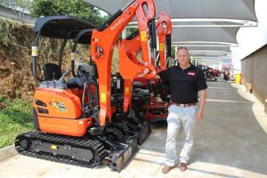 Tom Bloom, General Manager for Construction Equipment at Smith Power Equipment