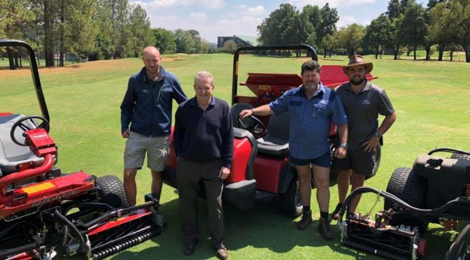New Toro Top Dresser give Randpark Golf Club new spark