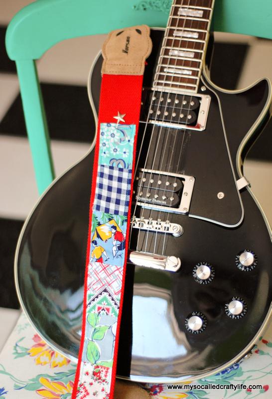 diy guitar strap
