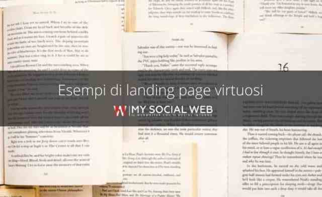 examples of effective landing pages