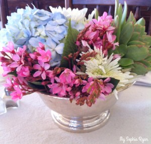 Garden Style Flower Arrangements