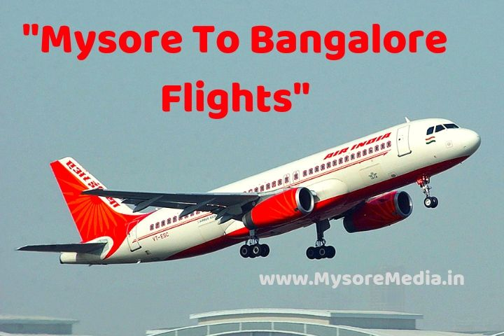 Mysore To Bangalore Flights