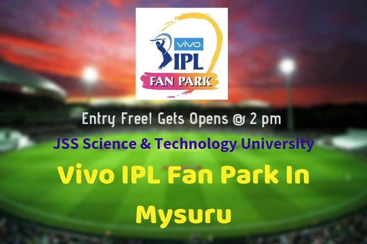 Vivo IPL Fan Park Mysuru