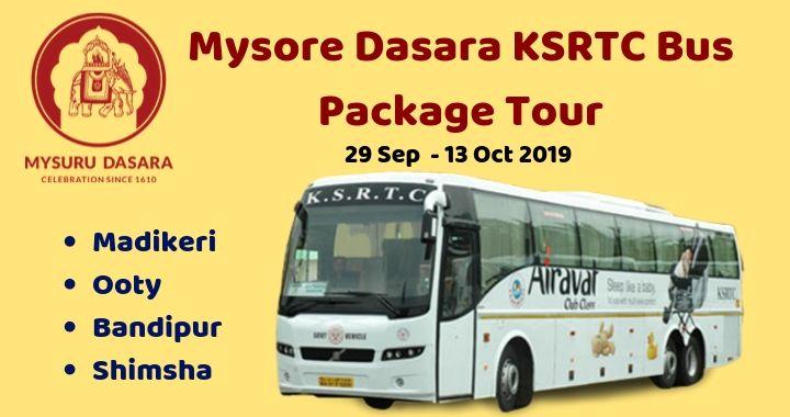 Mysore Dasara KSRTC Bus Package Tour
