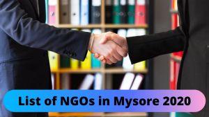 NGOs in Mysore