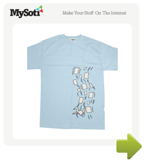 Not Your Average Paper tee by dramallama56. Available from MySoti.com.
