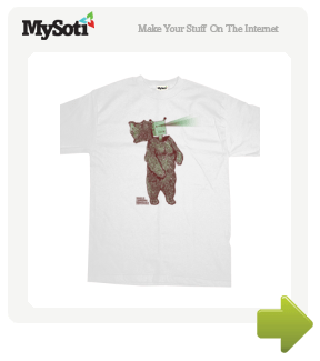 Noble Bear tee by Tommyfox. Available from MySoti.com.