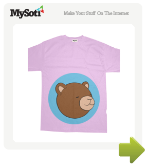 Bear Party tee by Ulises_F. Available from MySoti.com.