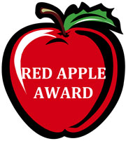 Image result for teachers red apple