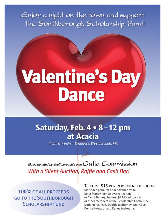 Reminder Valentines Day Dance On Saturday To Benefit