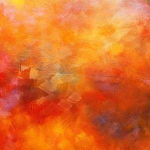 Tangerine Canvas art