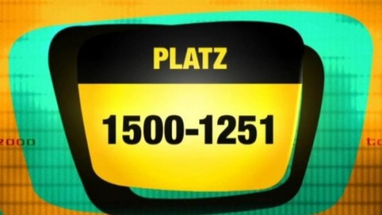 TV total   Top 2000  Pl    tze 1500   1251