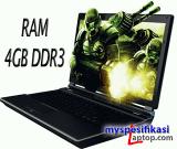 Laptop Gaming 5 Jutaan RAM 4 GB DDR3