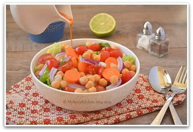Chickpeas Salad 2