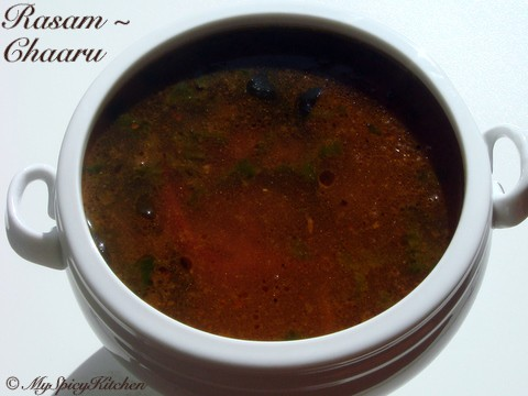 Rasam or Chaaru